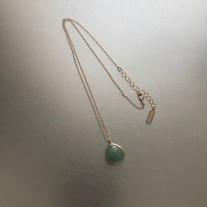 Baublebar necklace jade EUC